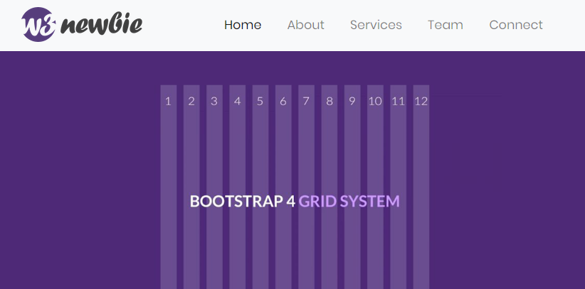 Bootstrap page